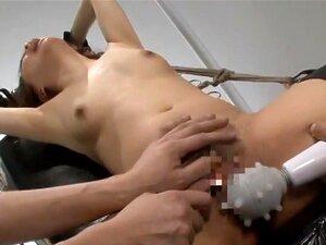 Asiatisch Bondage Vibrator Orgasmus