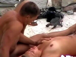 Nackt strand nahaufnahme