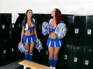 Cheerleader Umkleideraum Orgie