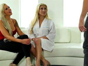 Blonde Latina Cristi Ann wird geleckt und hart gefickt