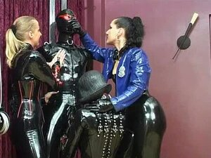Herrin machen ihn Sperma Bondage