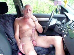 Amateur-Parkplatz-Fremde Lieber Phil