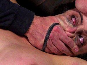Squirting Paige Owens erleidet grobe Analmanipulation