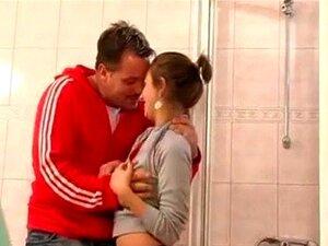 Schritt Tochter Saugen Daddy