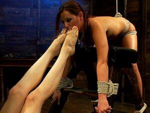 Füße Lesbisch Chanel Preston Best porn