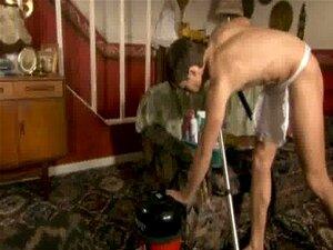 In pvc nackt Slut Wife