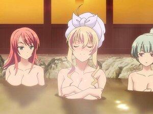 Nackt anime sexy mädchen Anime Hot