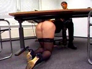 Deutsch Blondine Milf Büro