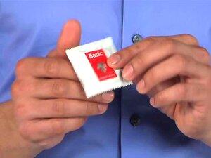 Kondom überziehen porn