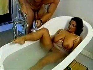 Mutter Fick Sohn Die Dusche